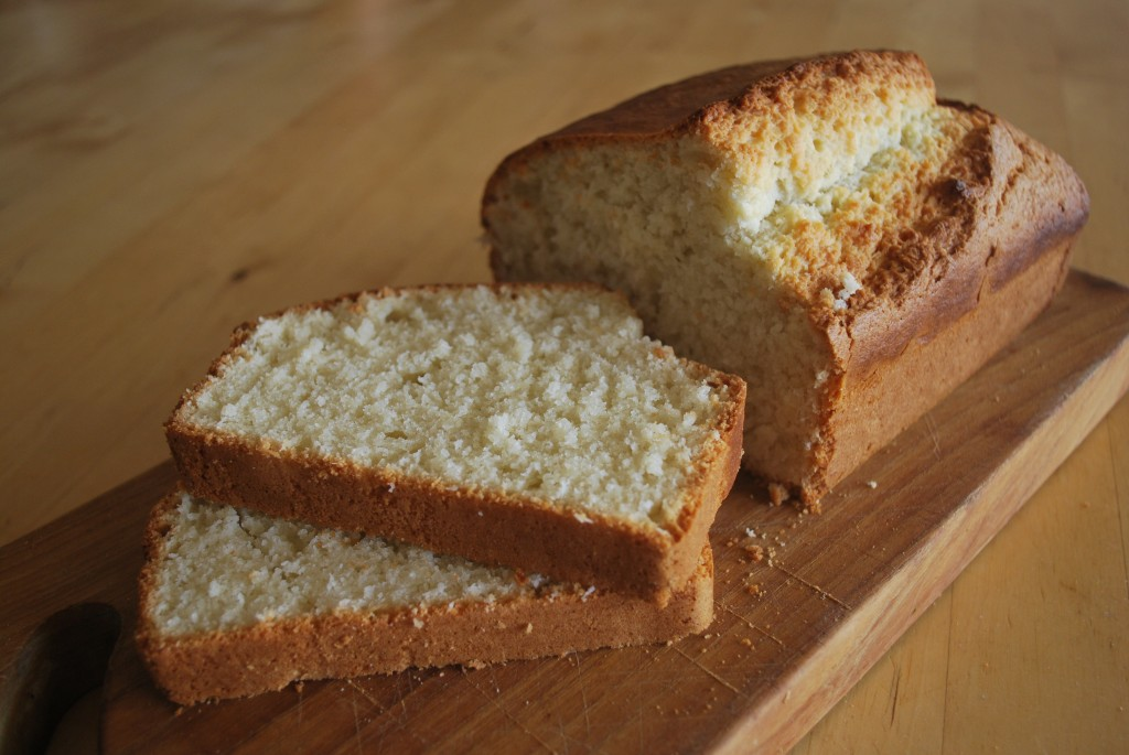 Coconut Bread Sliced